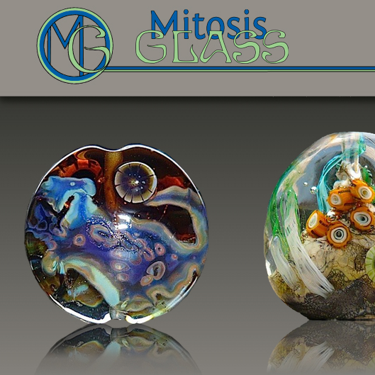Mitosis Glass Website Design